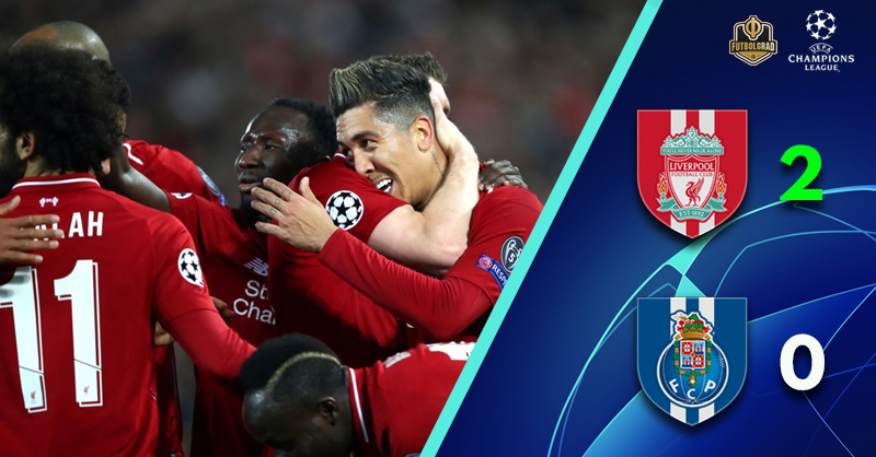 Advantage Liverpool as Jürgen Klopp's Reds take a two-goal cushion to Porto
