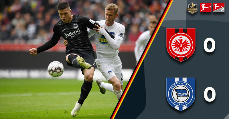 Eintracht held by Hertha as Champions League qualification becomes tight