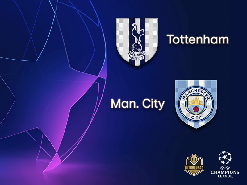 Tottenham host ManCity in an all-English affair