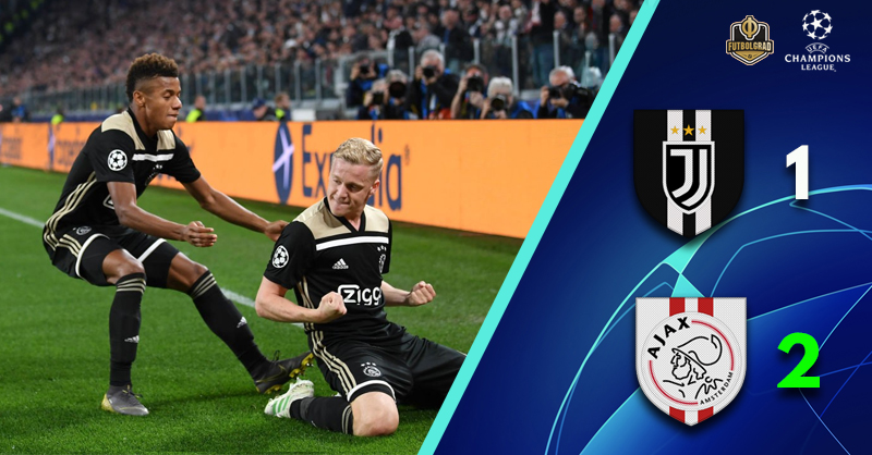 Juventus V Ajax Champions League Match Report