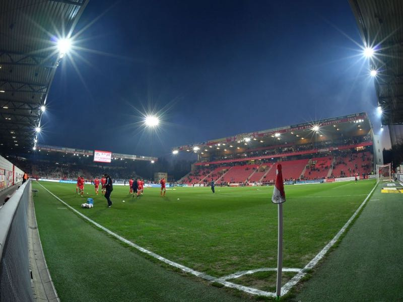 Union Berlin vs Stuttgart will take place at the Stadion an der Alten Försterei (Photo by Thomas F. Starke/Bongarts/Getty Images)