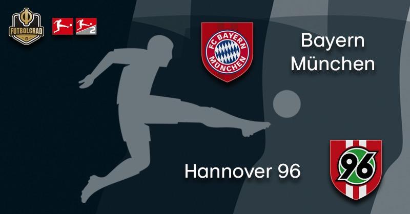 Bayern host struggling Hannover 96