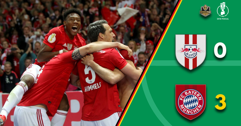 RB Leipzig fall to ruthless Bayern München