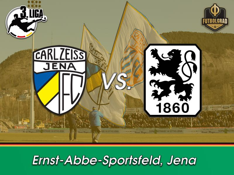 Carl-Zeiss Jena look to reach safety against 1860 Munich