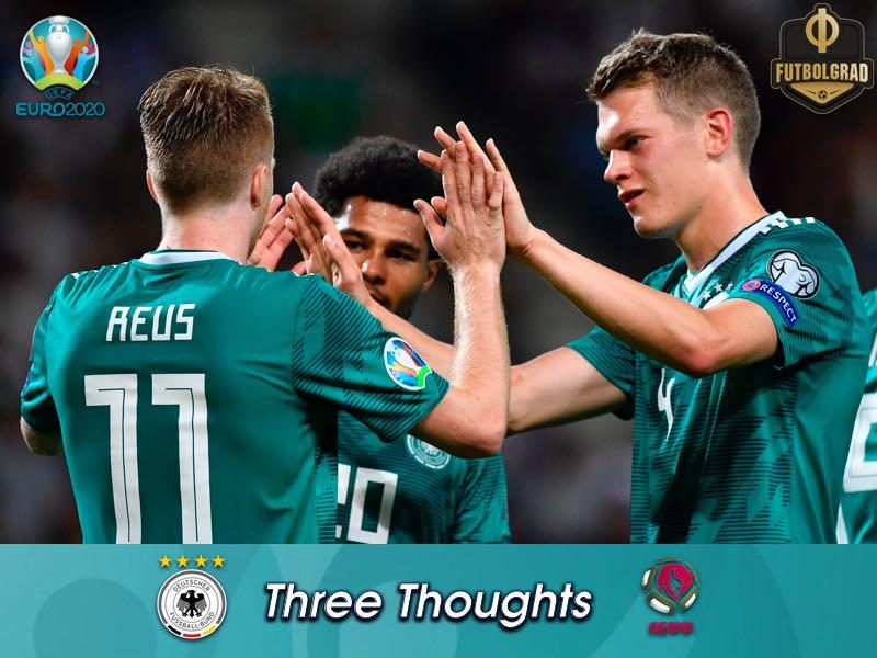 Half the job done, Germany brush aside Belarus