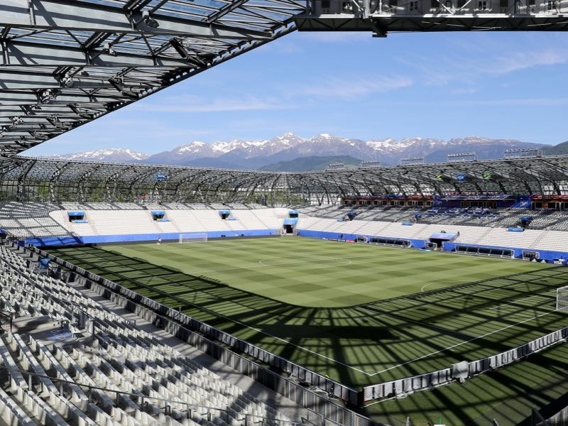 Germany vs Nigeria will take place at the Stade des Alpes in Grenoble (Photo by Elsa/Getty Images)