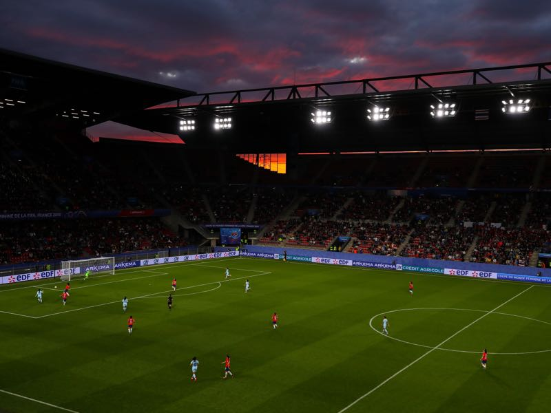 Germany vs Sweden will take place at the Roazhon Park in Rennes (Photo by Richard Heathcote/Getty Images)