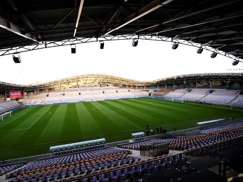 Belarus vs Germany will take place at the Borisov Arena (FRANCK FIFE/AFP/Getty Images)