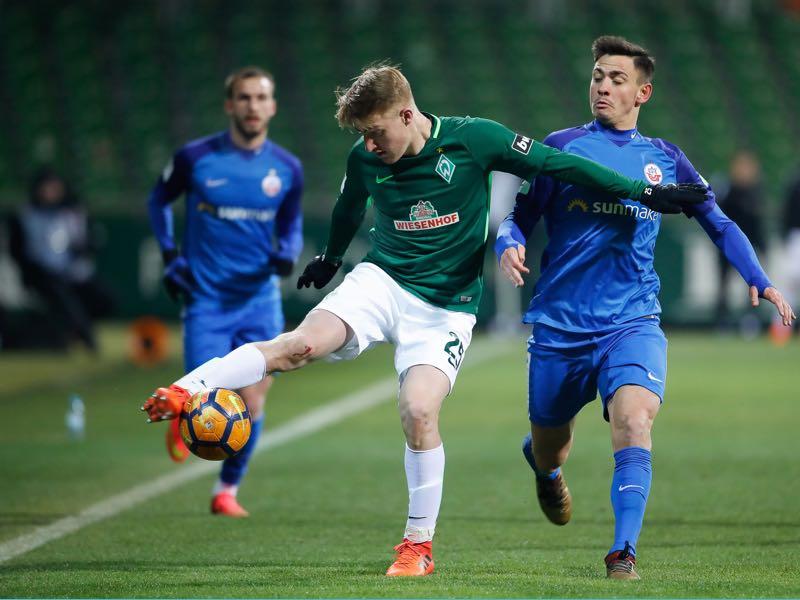 Fridolin Wagner joins Preußen Münster from Werder II (Photo by Martin Stoever/Bongarts/Getty Images)
