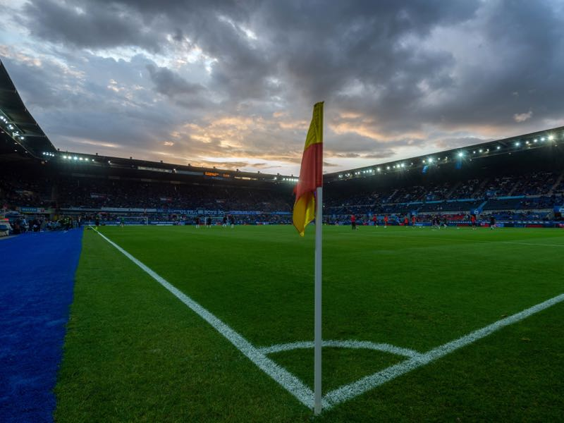 Strasbourg vs Eintracht Frankfurt will take place at the Stade de la Meinau (PATRICK HERTZOG/AFP/Getty Images)