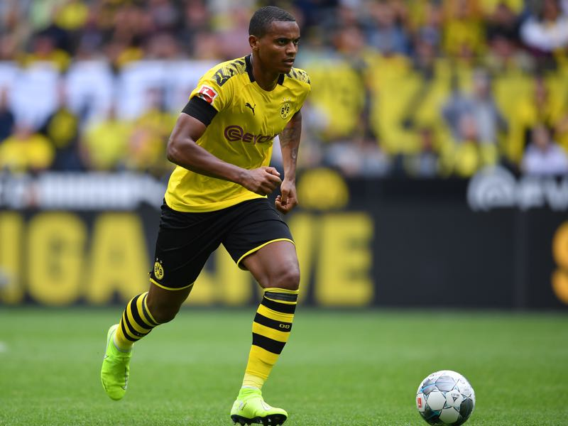 Manuel Akanji of Dortmund in action during the Bundesliga match between Borussia Dortmund and FC Augsburg at Signal Iduna Park on August 17, 2019 in Dortmund, Germany. (Photo by Stuart Franklin/Bongarts/Getty Images)