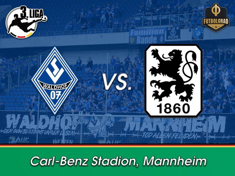 Two Lorant students clash when Waldhof Mannheim host 1860 Munich