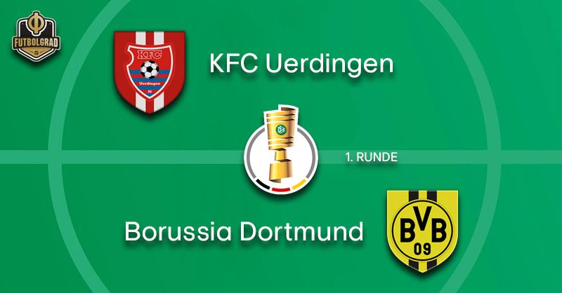 Liga 3 side Uerdingen host Bundesliga giants Borussia Dortmund