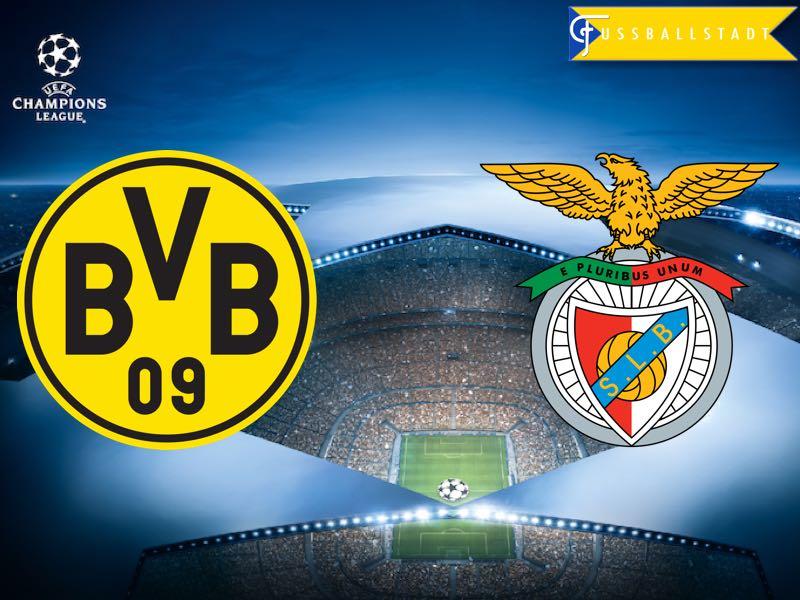Borussia Dortmund vs Benfica – Champions League Preview