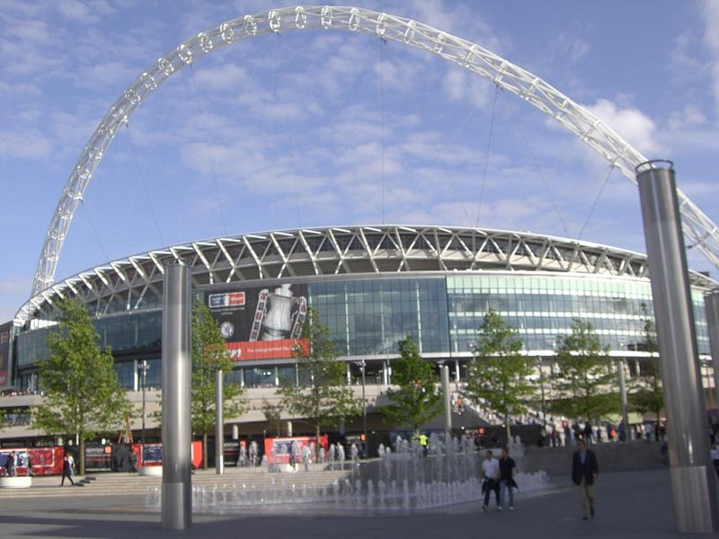 England vs Germany will take place at the Wembley Stadium. (Øyvind Vik)