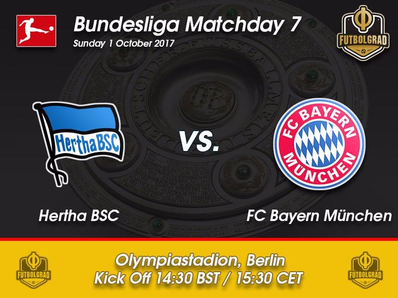 Hertha vs Bayern München – Bundesliga Preview
