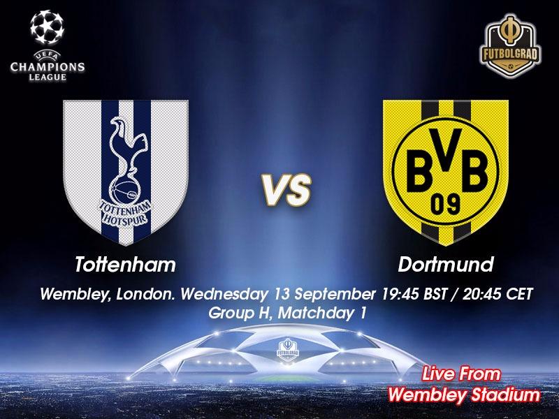 Tottenham v Dortmund Champions League Live