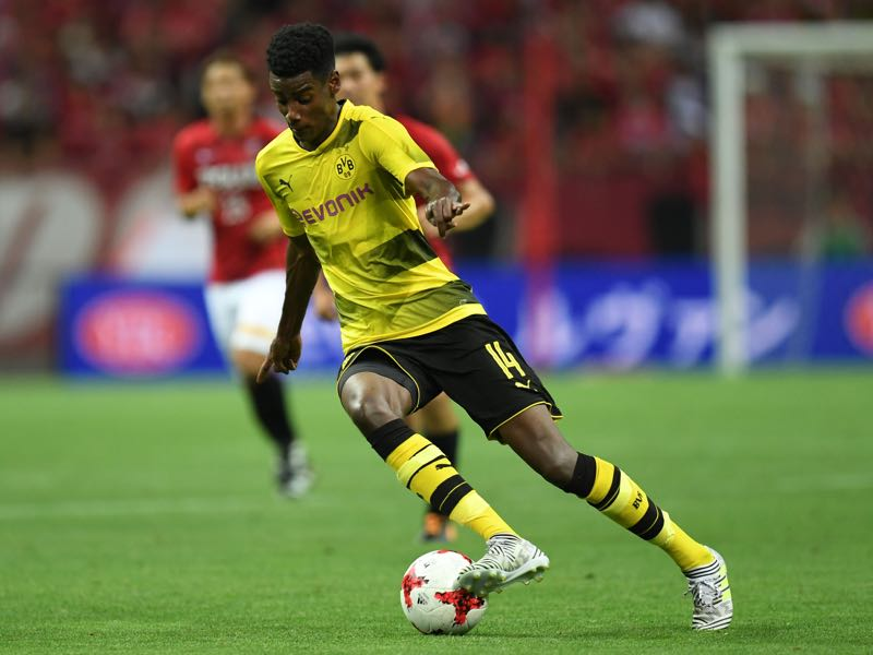 Alexander Isak was impressive against Magdeburg. (Photo by Atsushi Tomura/Getty Images)