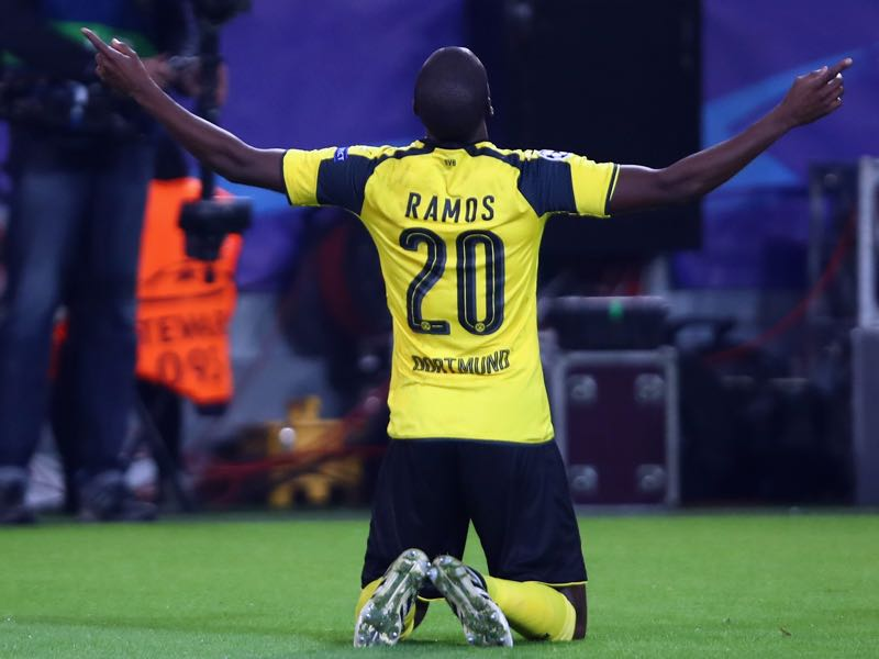 Adrian Ramos could be set for a Bundesliga return with Bayern or Köln. (Photo by Alex Grimm/Bongarts/Getty Images)