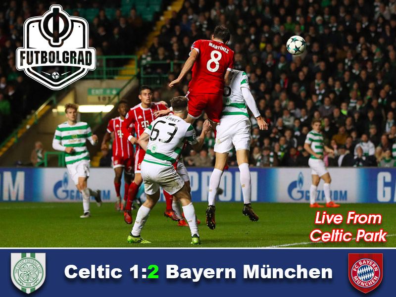 Celtic vs Bayern – Champions League Match Report