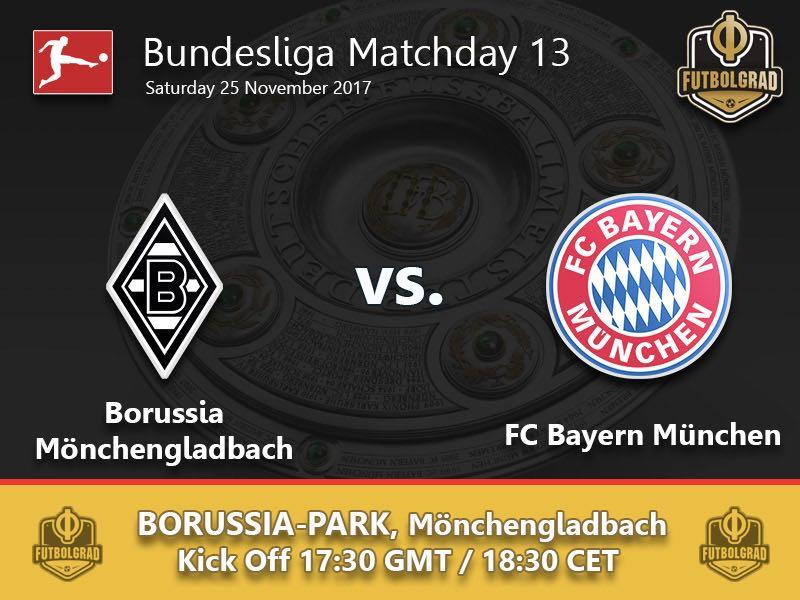Gladbach vs Bayern München – Bundesliga Preview