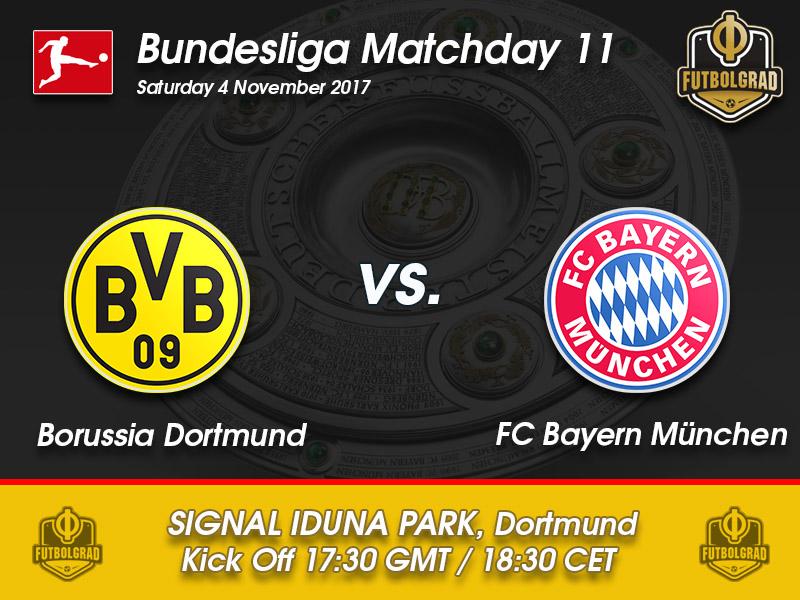 Borussia Dortmund vs Bayern – Bundesliga Preview