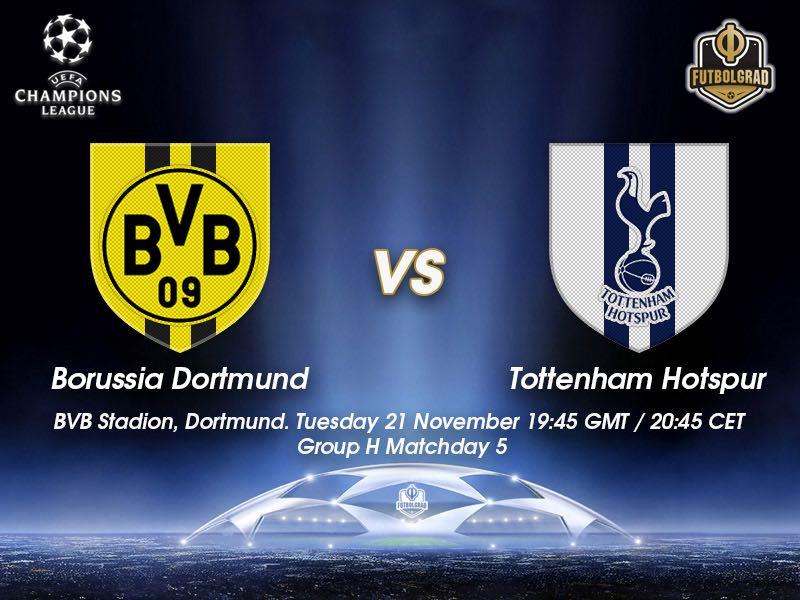 Dortmund vs Tottenham – Champions League – Preview