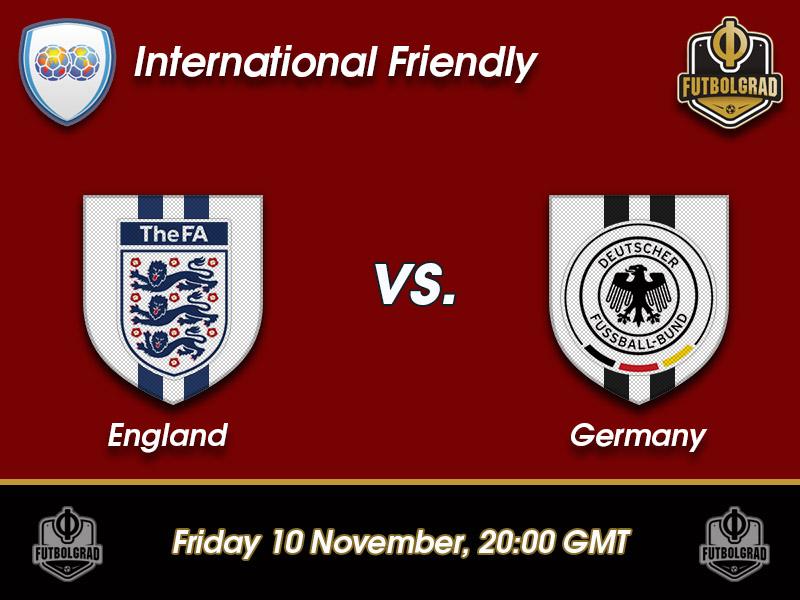 England vs Germany – International Friendly Preview