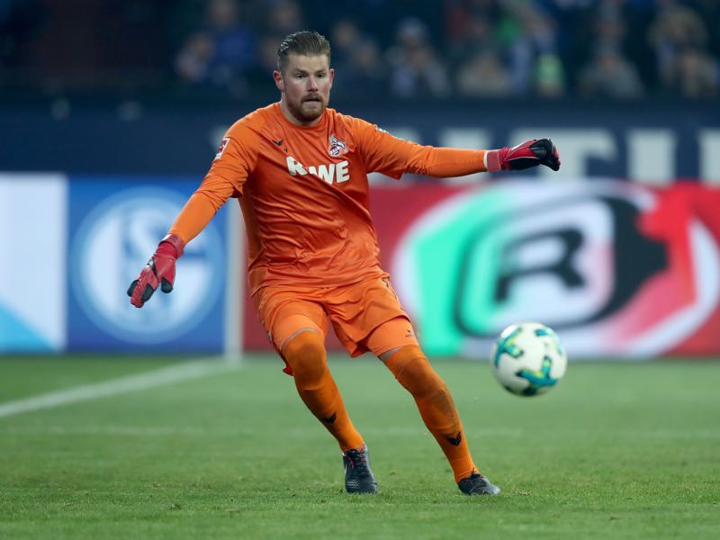 Timo Horn can expect a busy night in Munich on Wednesday. (Photo by Christof Koepsel/Bongarts/Getty Images)