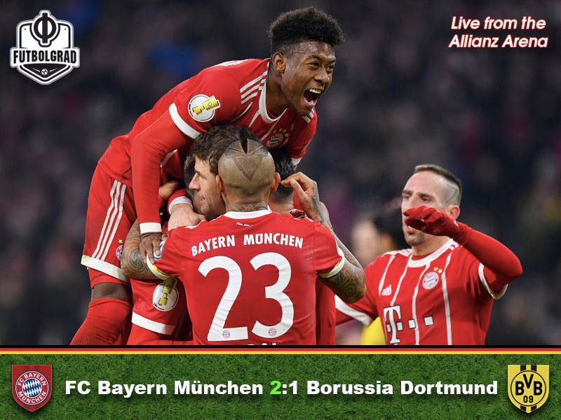 Bayern v Dortmund – Match Report