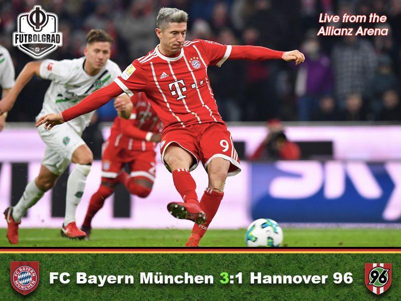Bayern v Hannover – Match Report