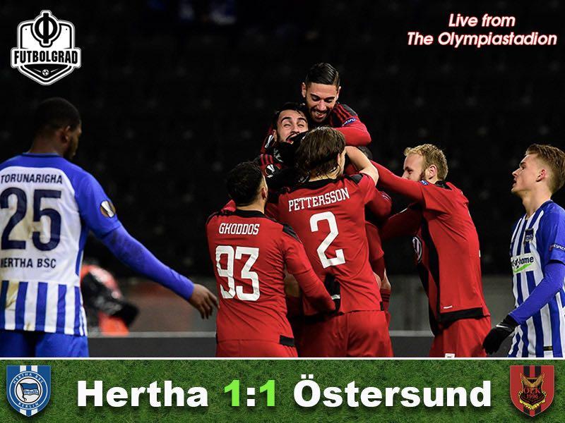 Hertha Berlin v Östersunds FK – Match Report
