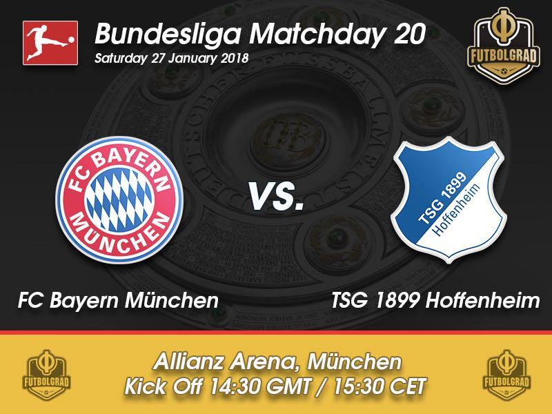 Bayern vs Hoffenheim – Bundesliga – Preview