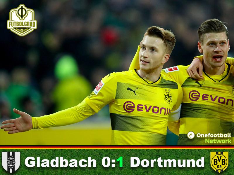 Gladbach vs Dortmund – Bundesliga – Match Report