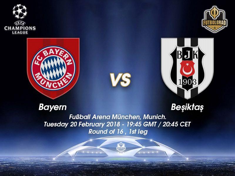 Bayern vs Besiktas – Champions League – Preview