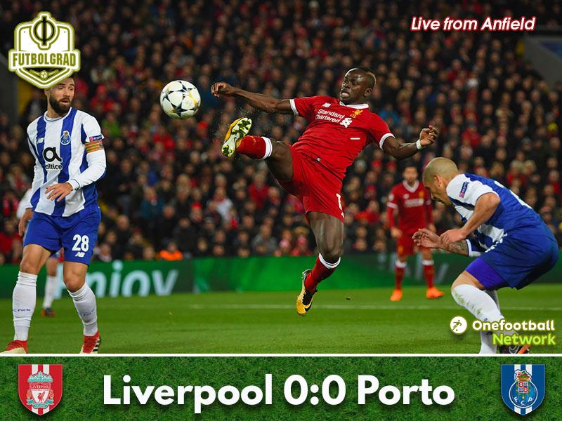 Liverpool vs Porto – Champions League – Match Report