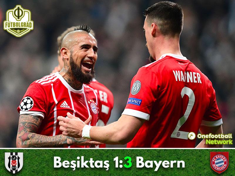 Besiktas vs Bayern München – Champions League – Match Report