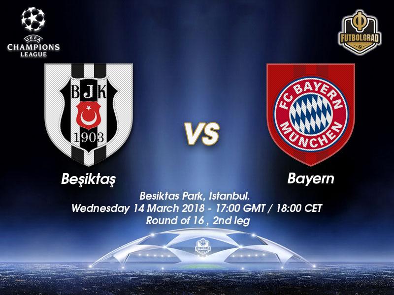 Besiktas vs Bayern – Champions League – Preview