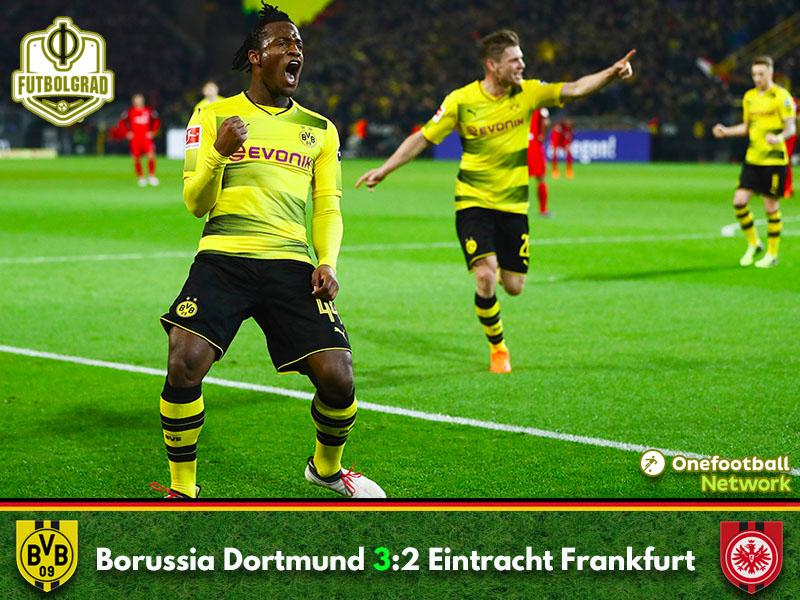 Dortmund vs Frankfurt – Bundesliga – Match Report