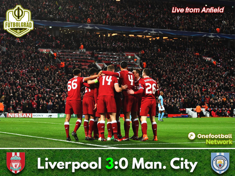 Liverpool vs Manchester City – Champions League – Match Report