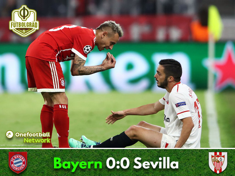 Bayern hold Sevilla to a bore draw to advance to the semifinals