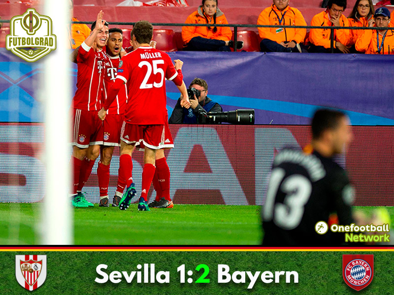 Sevilla vs Bayern – Champions League – Match Report