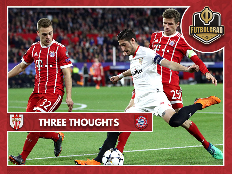 Comeback victory over Sevilla helps Bayern overcome Spanish trauma