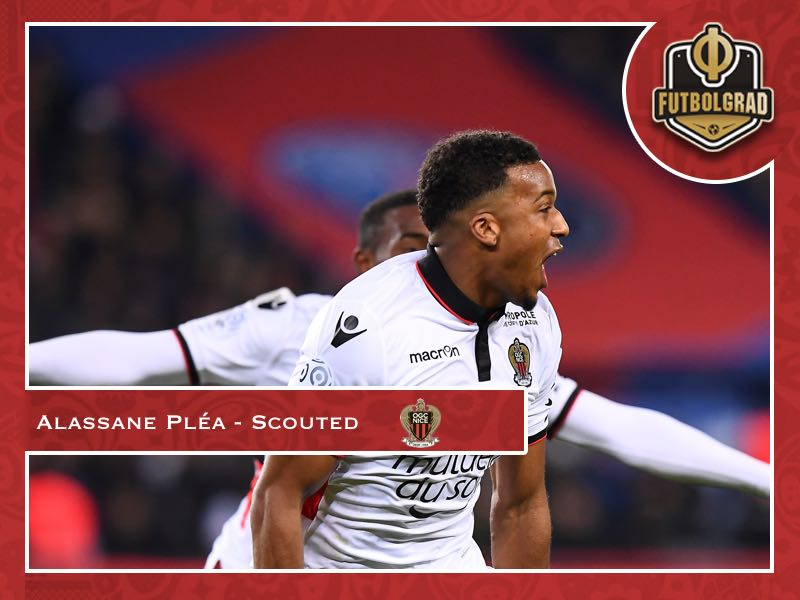 Alassane Pléa – The striker that gives more than goals
