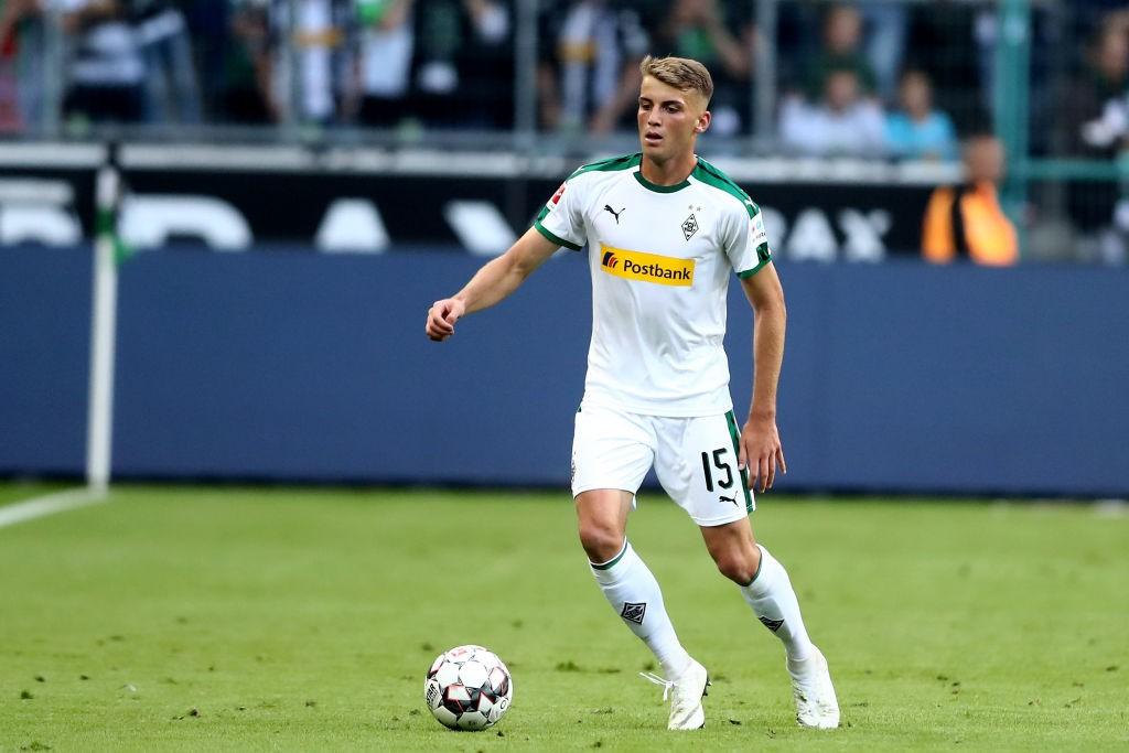 Louis Jordan Beyer of Mönchengladbach (Photo by Christof Koepsel/Bongarts/Getty Images)