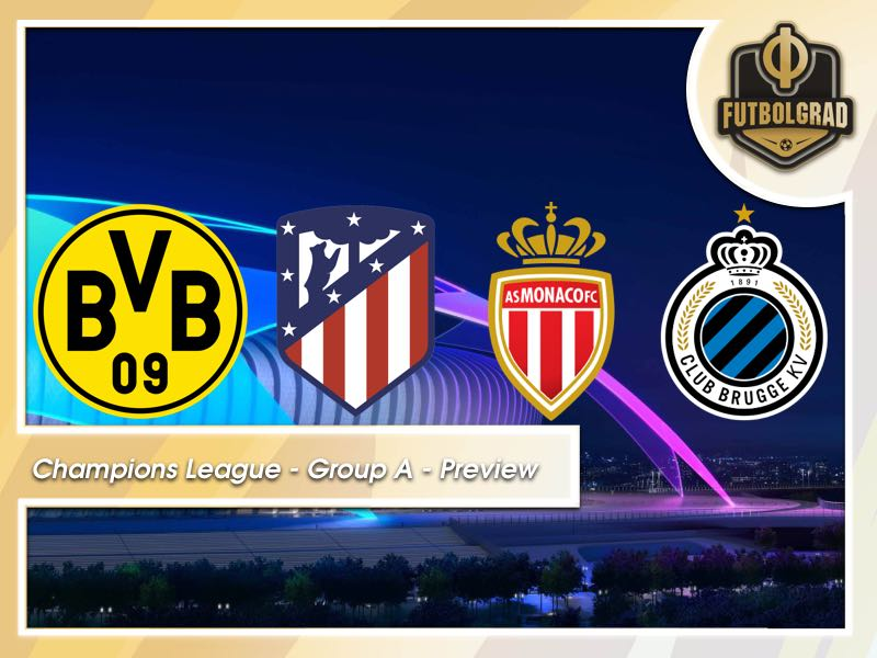 Champions League – Borussia Dortmund's Group A Previewed