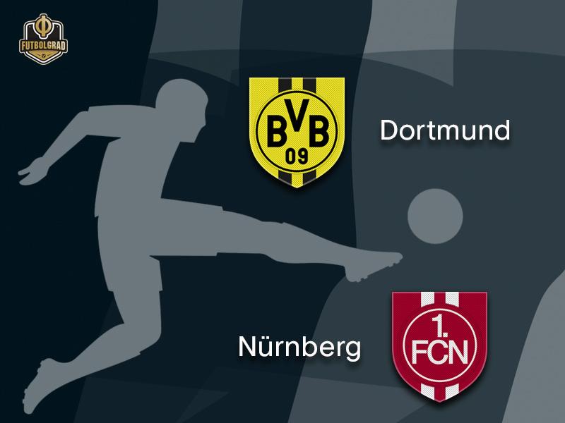 Borussia Dortmund attempt to return to winning ways when they host Nürnberg