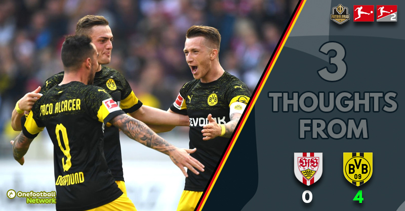 'Sancho – Flying' and 'Alcácer – Sublime' – Three thoughts as Dortmund power past Stuttgart