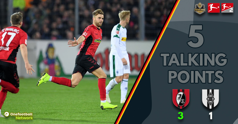 'Home Comforts' and 'Wonderful Waldschmidt' – Five Talking Points From Freiburg vs Gladbach
