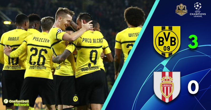 Power from the bench once again as Dortmund defeat Monaco on matchday 2